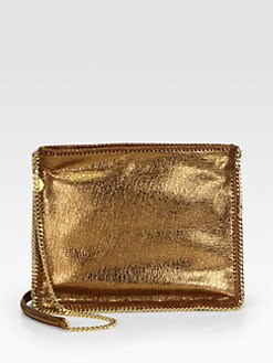 Stella McCartney - Metallic Crackle Crossbody Bag