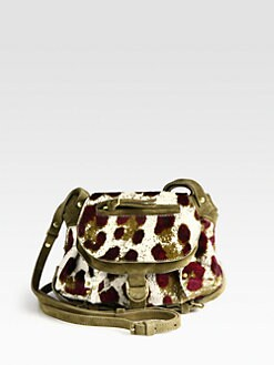 Jerome Dreyfuss - Twee Mini Pony Hair & Suede Crossbody