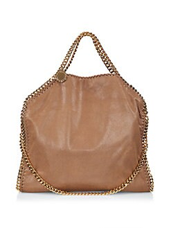 Stella McCartney - Shaggy Deer Falabella Fold-Over Tote
