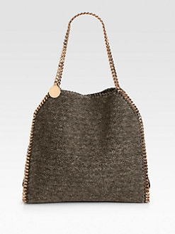 Stella McCartney - Teddy Bear Faux Fur Baby Bella Tote