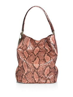 Stella McCartney - Faux Python Hobo Bag
