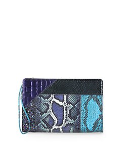 Stella McCartney - Oversize Patchwork Clutch