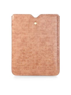 Stella McCartney - Faux Crocodile Case For iPad 1,2 & 3