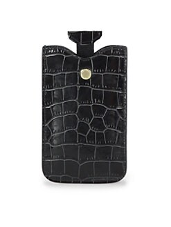 Stella McCartney - Faux Crocodile Case For iPhone 5