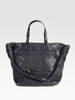 Jerome Dreyfuss - Caviar Medium Tote