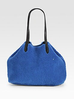 Jerome Dreyfuss - Reversible Shearling Shopper