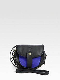 Jerome Dreyfuss - Caviar Colorblock Mini Crossbody Bag