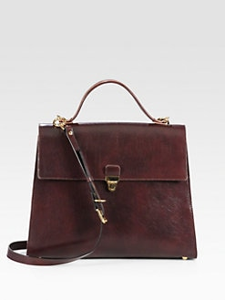 Marni - Gusseted Top Handle Satchel