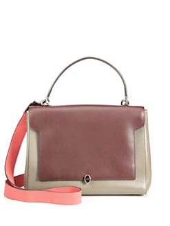 Anya Hindmarch - Two-Tone Top-Handle Bag