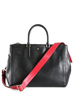 Anya Hindmarch - Ebury Large Top-Handle Crossbody