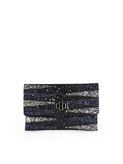 Anya Hindmarch - Valorie Glitter Clutch