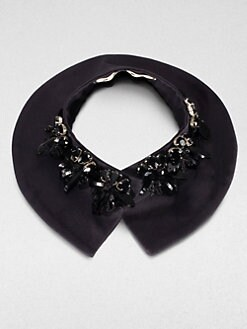Marni - Embellished Stand Collar Necklace
