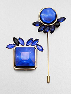 Marni - Faceted Abstract Pin Set