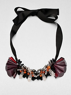 Marni - Cluster Ribbon Necklace