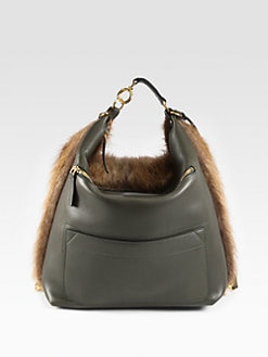 Marni - Castorino Fur Convertible Backpack