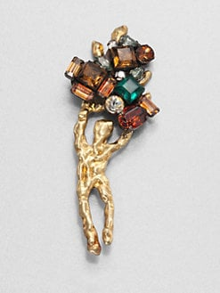 Marni - Jeweled Brooch
