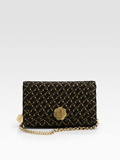 Eric Javits - Woven Straw Flap-Front Shoulder Bag