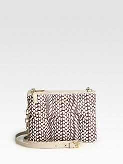 Furla Exclusively for Saks Fifth Avenue - Regina Small Leather & Snakeskin Shoulder Bag