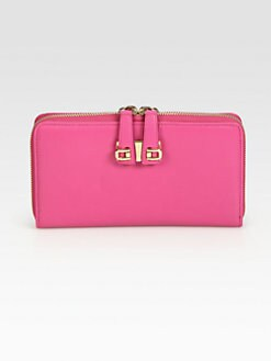 Furla Exclusively for Saks Fifth Avenue - Mediterranea Double Clasp Large Wallet