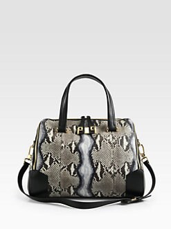 Furla Exclusively for Saks Fifth Avenue - Mediterranea Large Python Shopper