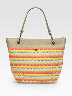 Eric Javits - Squishee Clip Striped Tote