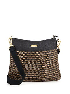 Eric Javits - Escape Woven Straw Messenger Bag