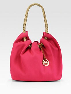 MICHAEL MICHAEL KORS - Marina Drawstring Canvas Tote
