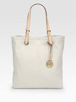 MICHAEL MICHAEL KORS - Jet Set Leather Tote
