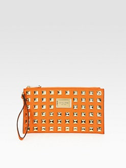 MICHAEL MICHAEL KORS - Studded Large Wristlet