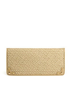 Eric Javits - Squishee Woven Envelope Clutch