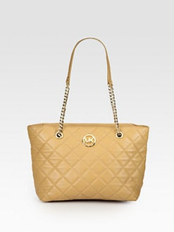 MICHAEL MICHAEL KORS - Fulton Quilted Large Tote