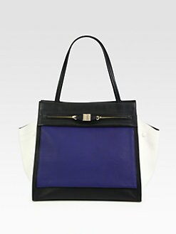 Furla Exclusively for Saks Fifth Avenue - Equestre Colorblock Shopper