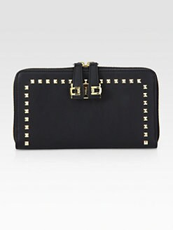 Furla Exclusively for Saks Fifth Avenue - Mediterranea Studded Zip-Around Wallet
