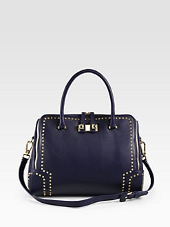 Furla Exclusively for Saks Fifth Avenue - Mediterranea Studded Shopper