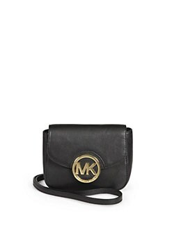 MICHAEL MICHAEL KORS - Small Leather Crossbody Bag