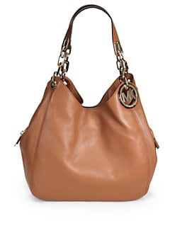 MICHAEL MICHAEL KORS - Large Leather Shoulder Bag