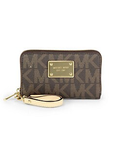 MICHAEL MICHAEL KORS - Monogrammed Phone Wristlet