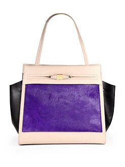 Furla Exclusively for Saks Fifth Avenue - Equestrienne Pony Hair Shopper
