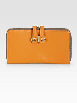 Furla Exclusively for Saks Fifth Avenue - Mediterranea Bi-Color Zip-Around Wallet