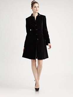 Pink Tartan - Velvet Riding Coat