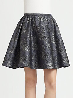 Pink Tartan - Shimmer Skirt