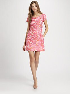 Pink Tartan - Jacquard Dress