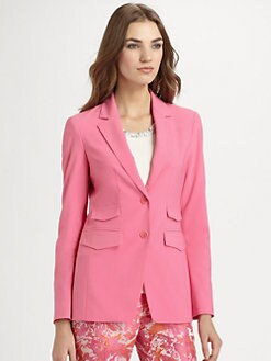 Pink Tartan - Four-Pocket Jacket