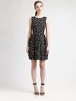 Pink Tartan - Brush-Dot Tiffany Dress