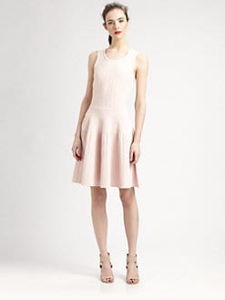 Pink Tartan - Sleeveless Ballet Dress