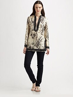 Tory Burch - Silk Tory Tunic
