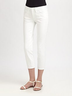 Tory Burch - Alexa Cropped Jeans