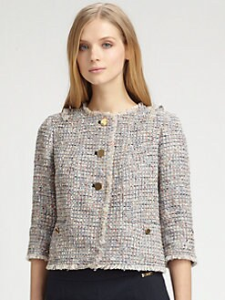 Tory Burch - Tweed Emma Jacket