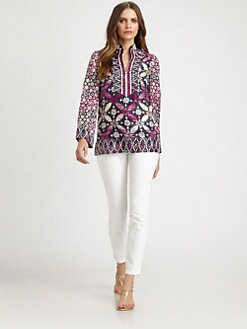 Tory Burch - Silk Daria Tunic