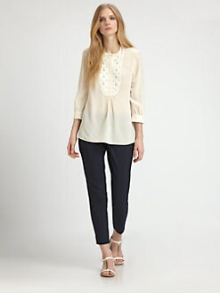 Tory Burch - Silk Petal Blouse